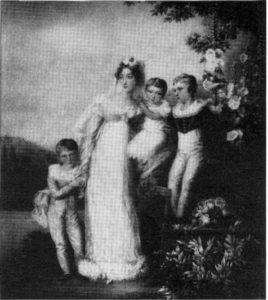 Bild der Familie von Bethmann
