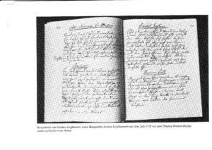 Goethes Haushaltsbuch